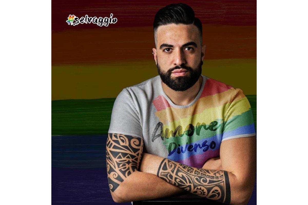 """Selvaggio - In radio e nei digital store il primo singolo """"Amore diverso"""""""