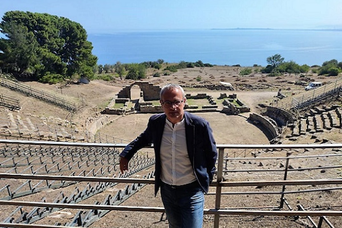 Patti (ME) - L'Assessore Samonà presente alla riapertura dell'Area Archeologica