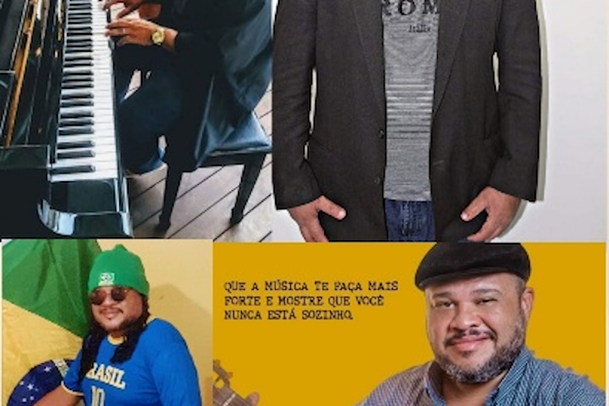 Zizão Machado, al Festival delle Arti V Edizione sul Web Noi per Napoli, come rappresentante internazionale della musica del Brasile