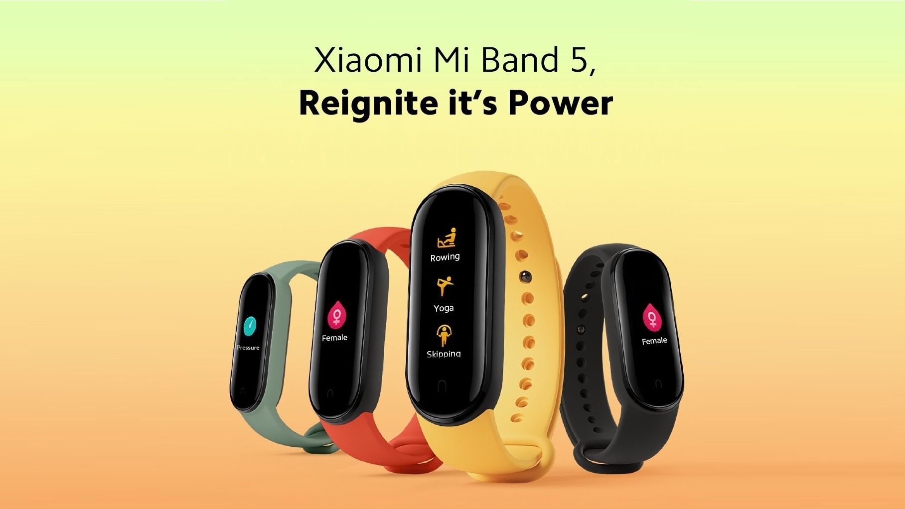 Xiaomi Mi band 5 è stata presentata ufficialmente: la solita regina delle smartband ha anche il chip NFC e costa meno di 30 euro