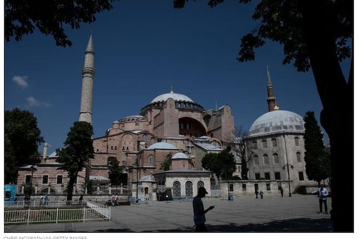 Santa Sofia: durante il venerdì islamico saranno coperte le icone cristiane