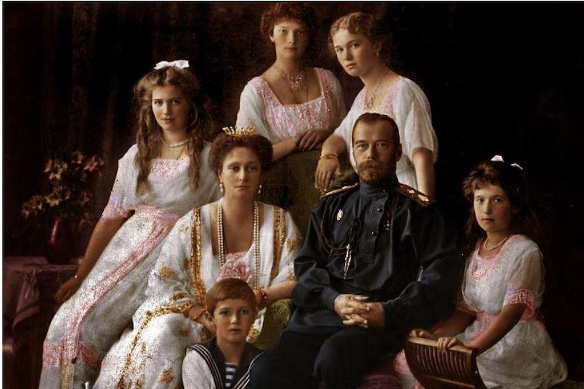 Russia Ritrovati i resti dei figli della Zar Nicola II