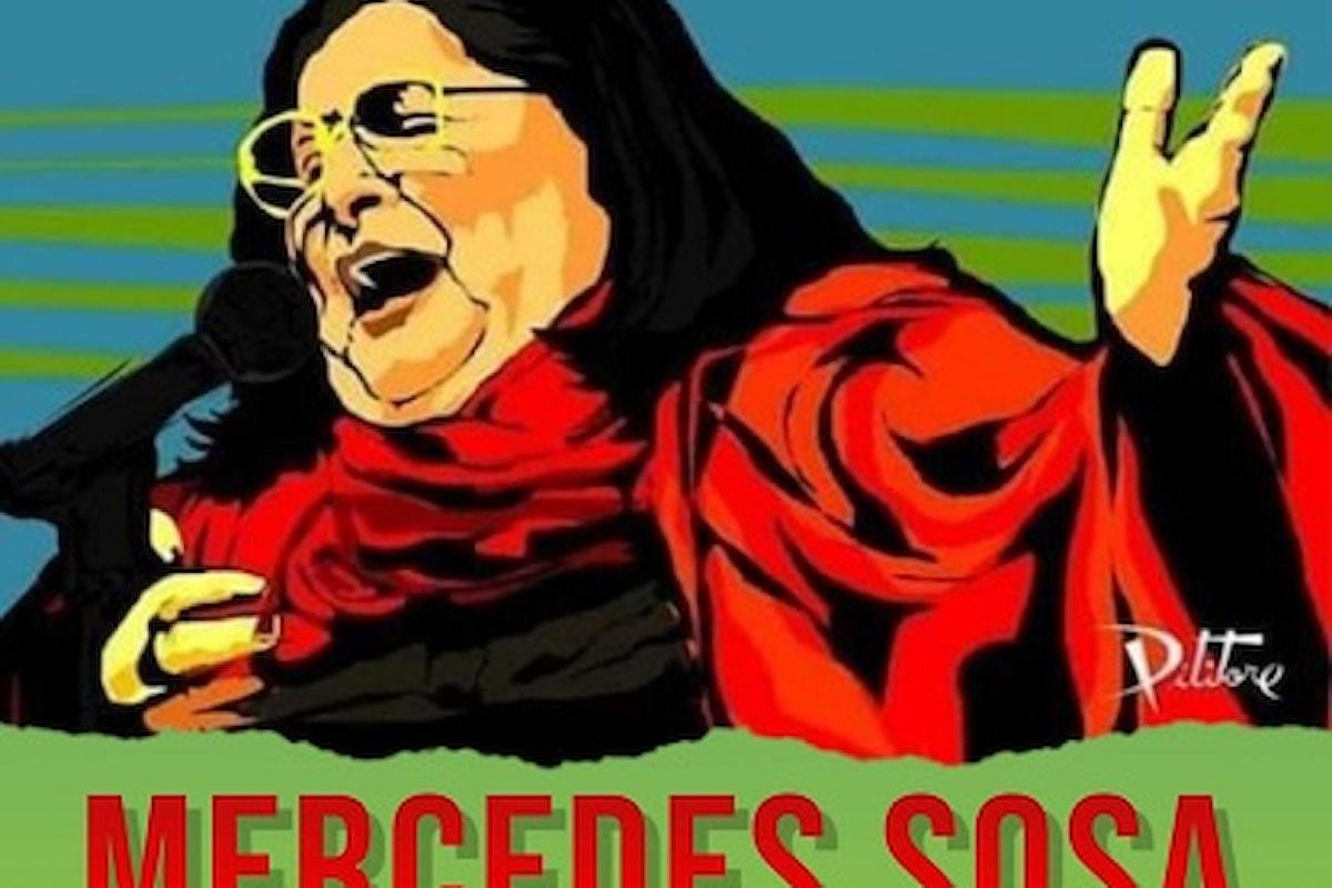 La leggendaria artista Mercedes Sosa nella biografia di Anette Christensen