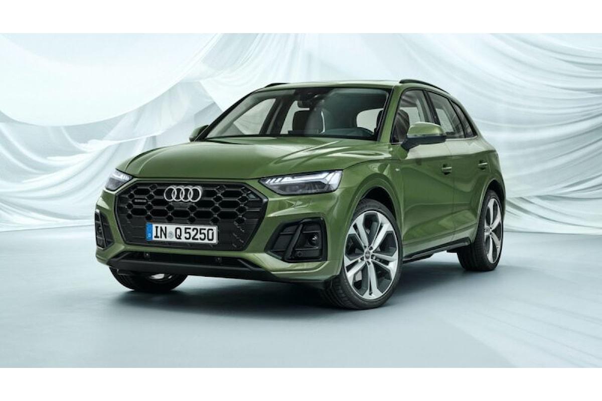 Nuova Audi Q5: la tedesca che vuole insidiare la Stelvio