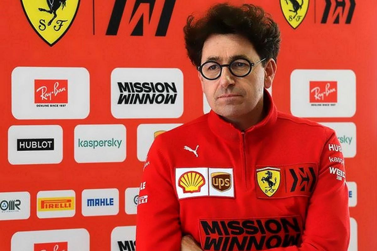 Ferrari, per Binotto è il progetto complessivo della vettura che va rivisto