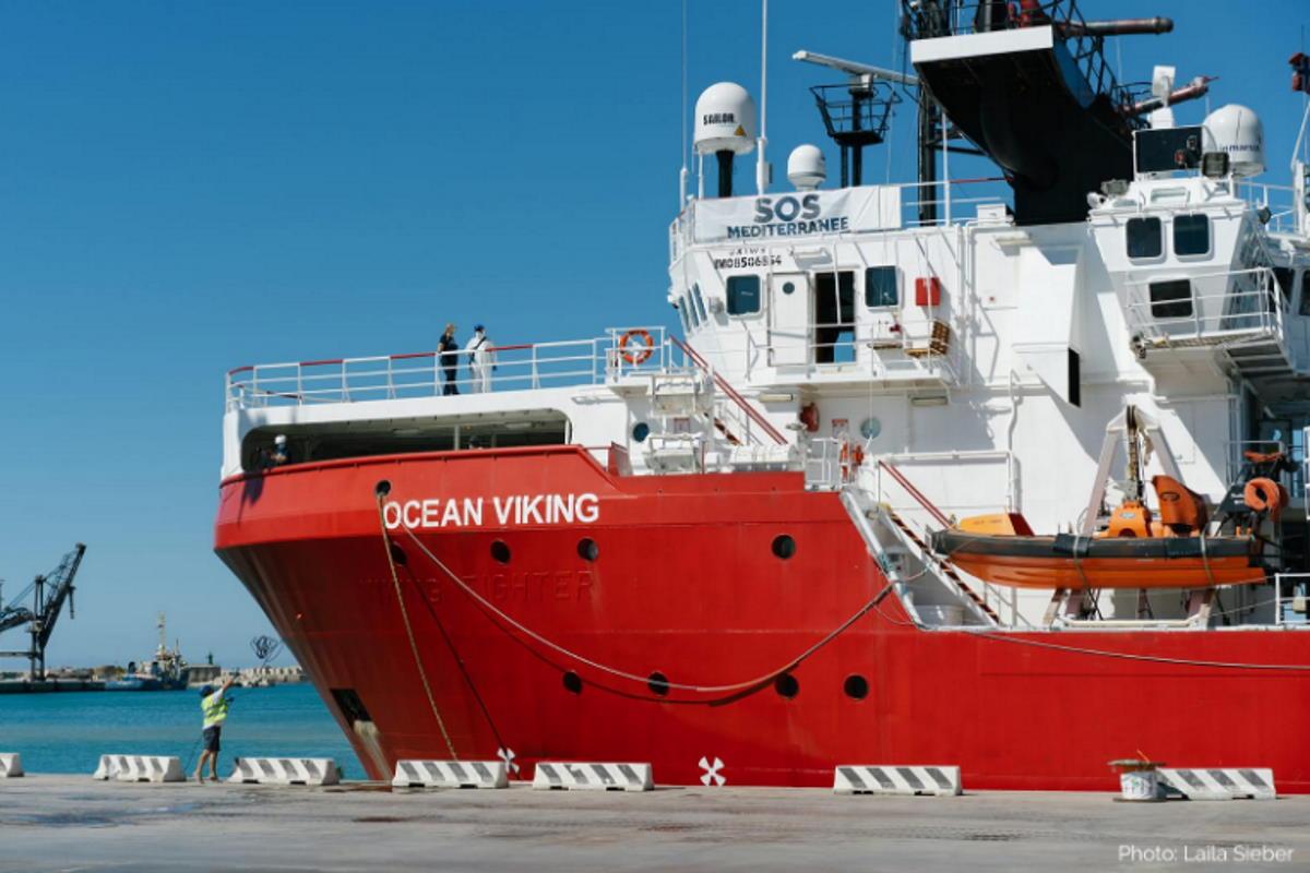 E l'ipocrita governo giallorosso ferma anche la Ocean Viking