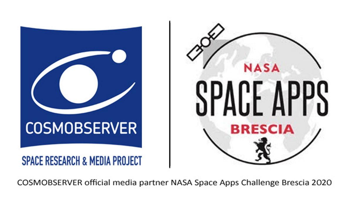 COSMOBSERVER media partner del NASA Space Apps Challenge di Brescia 2020