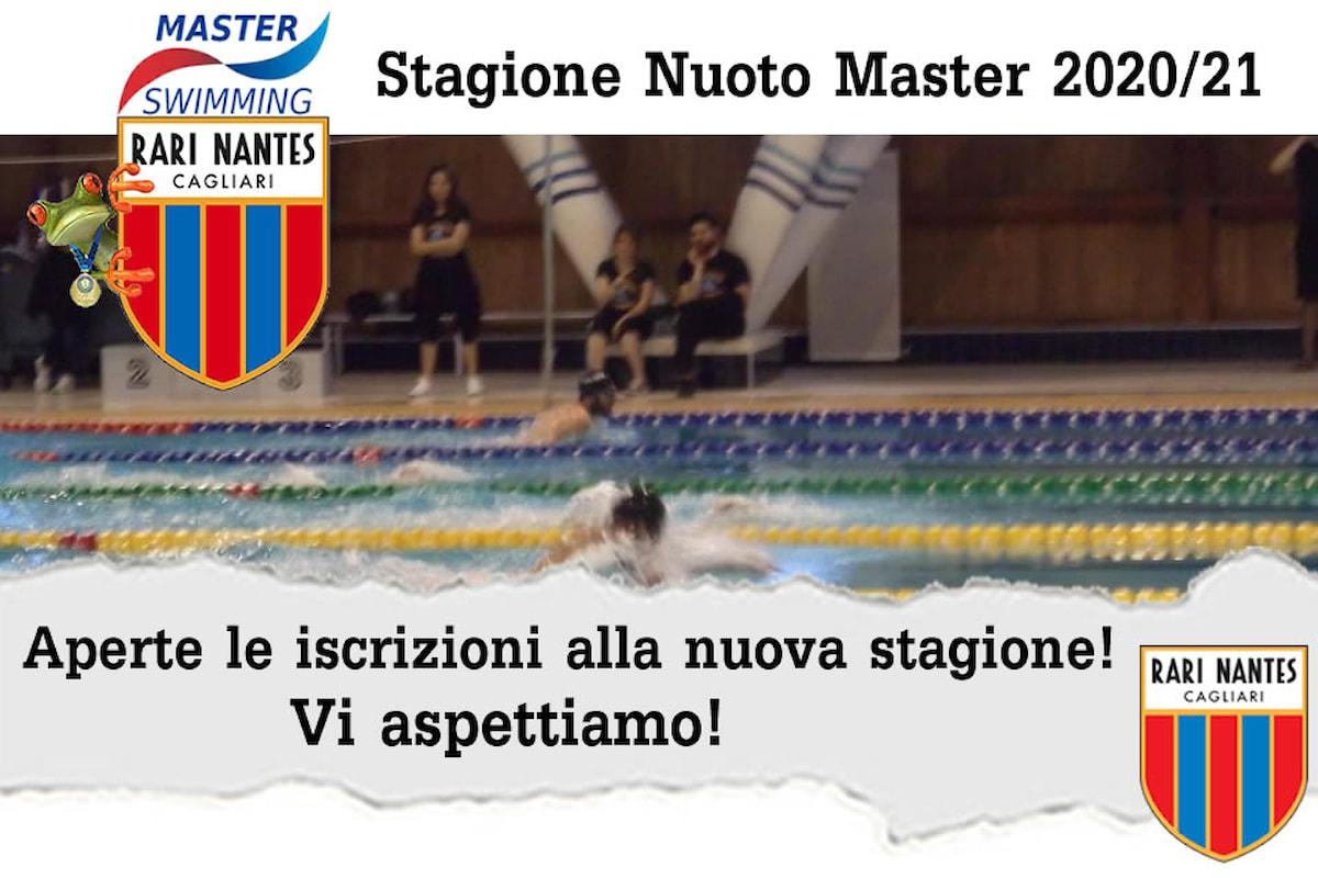 Nuoto Master. La Rari Nantes Cagliari ha aperto le iscrizioni per la stagione Master 2020/21