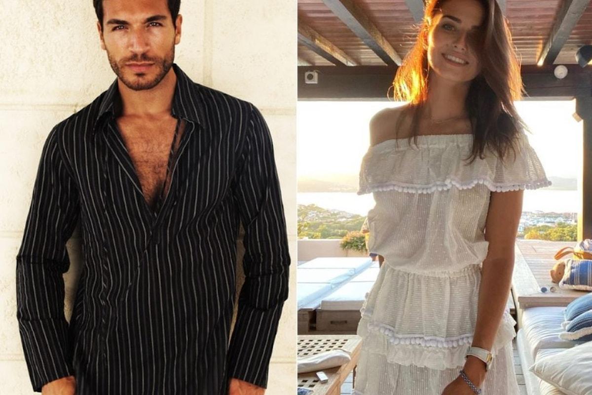 Valerio Pino e Anna Safroncik: baci mozzafiato in passato