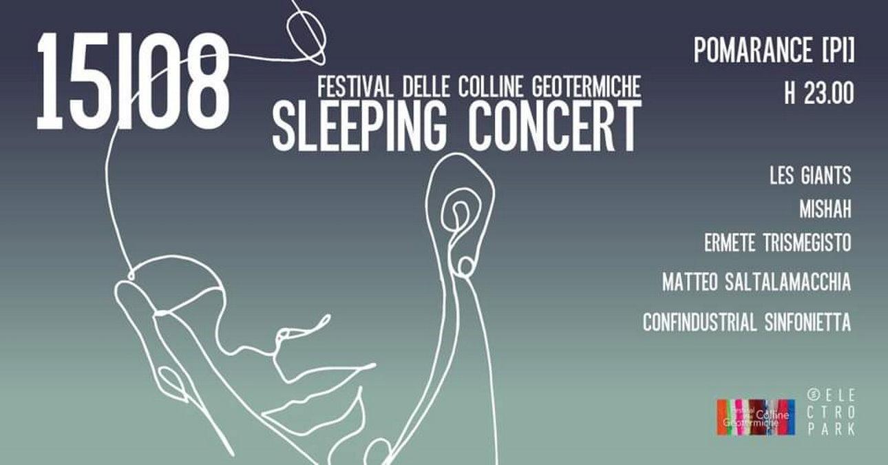 Festival delle Colline Geotermiche, a Pomarance uno sleeping concert in collaborazione con Electropark