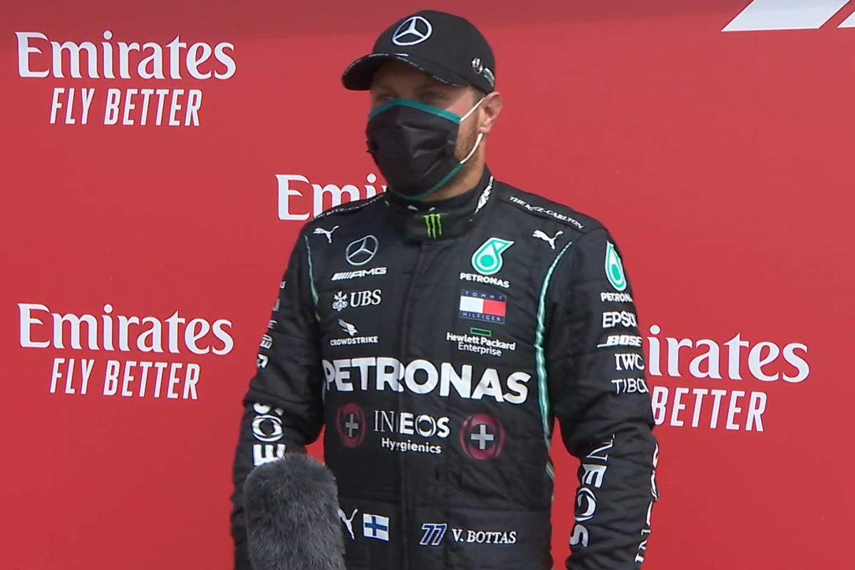 Formula 1, sarà Bottas a partire dalla pole per il GP del 70° anniversario