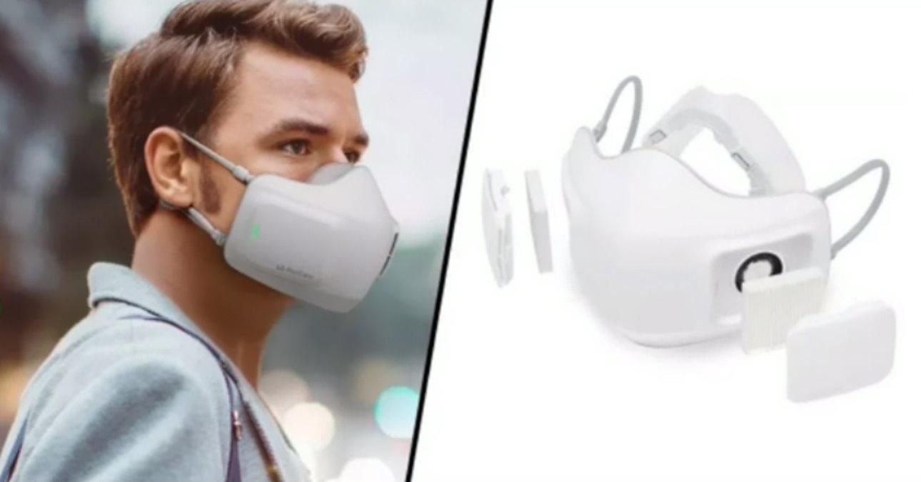 LG lancia sul mercato la mascherina elettrica