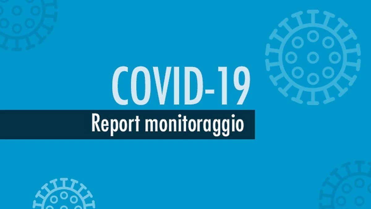 Report monitoraggio Covid dal 31 agosto 6 settembre
