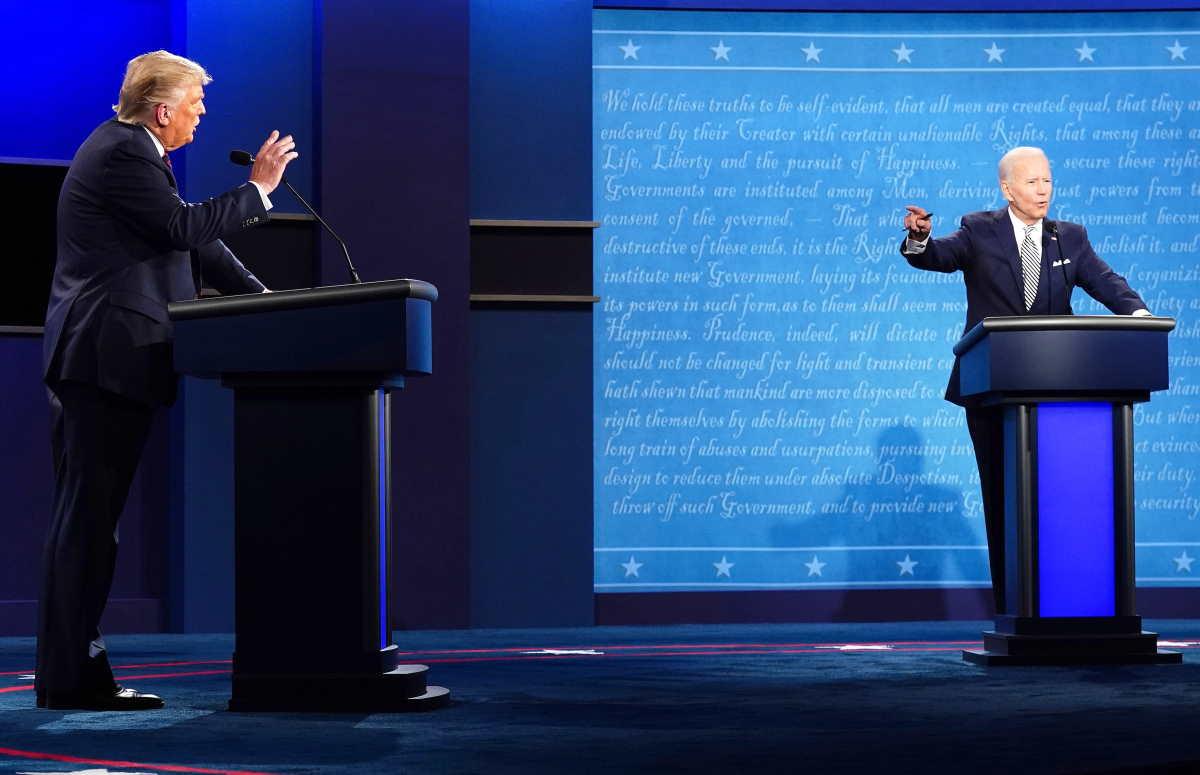 Nel primo dibattito tra i candidati alle prossime presidenziali Usa Trump si è dimenticato di essere il presidente in carica