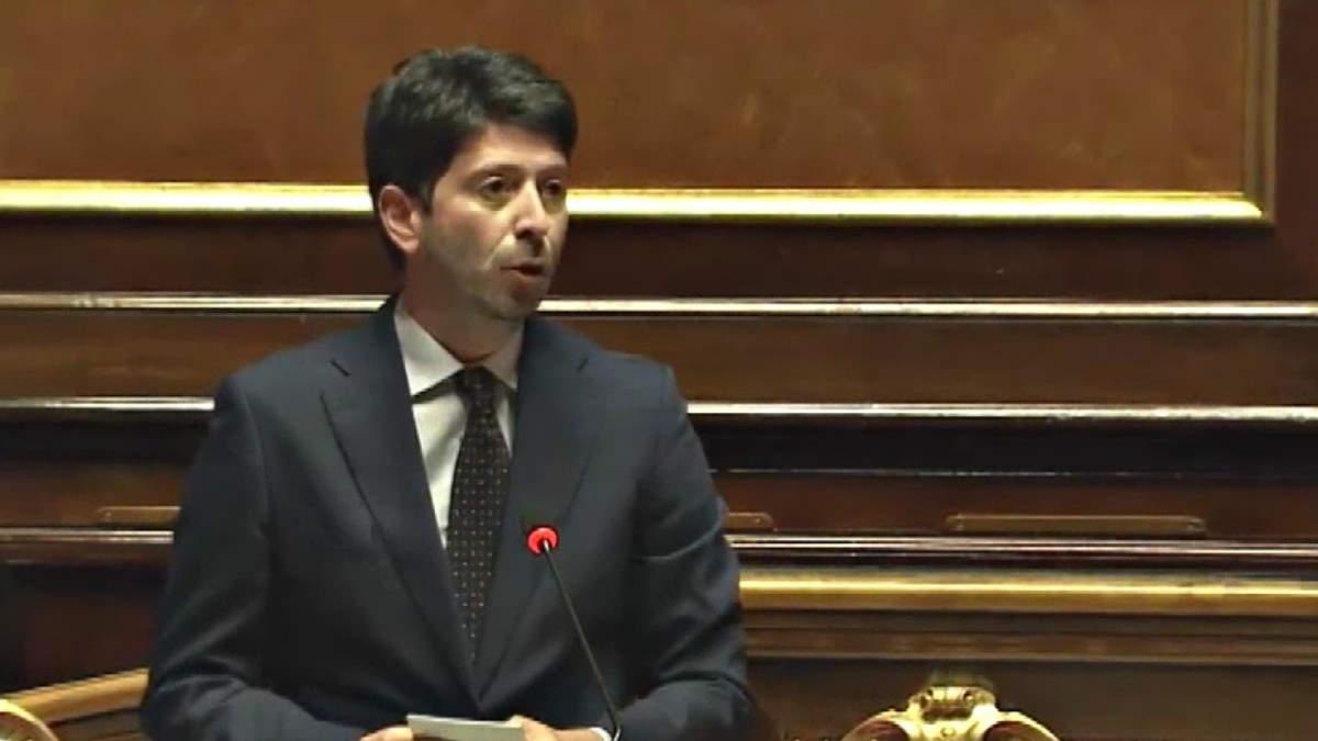 Covid 19: comunicazione del ministro Speranza sulla situazione Covd-19 in Italia al 2 settembre