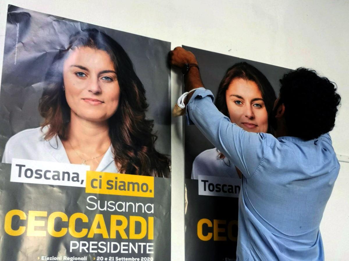 E adesso a sostegno della candidatura della Ceccardi alla regione Toscana è sceso in campo anche il mago Idi