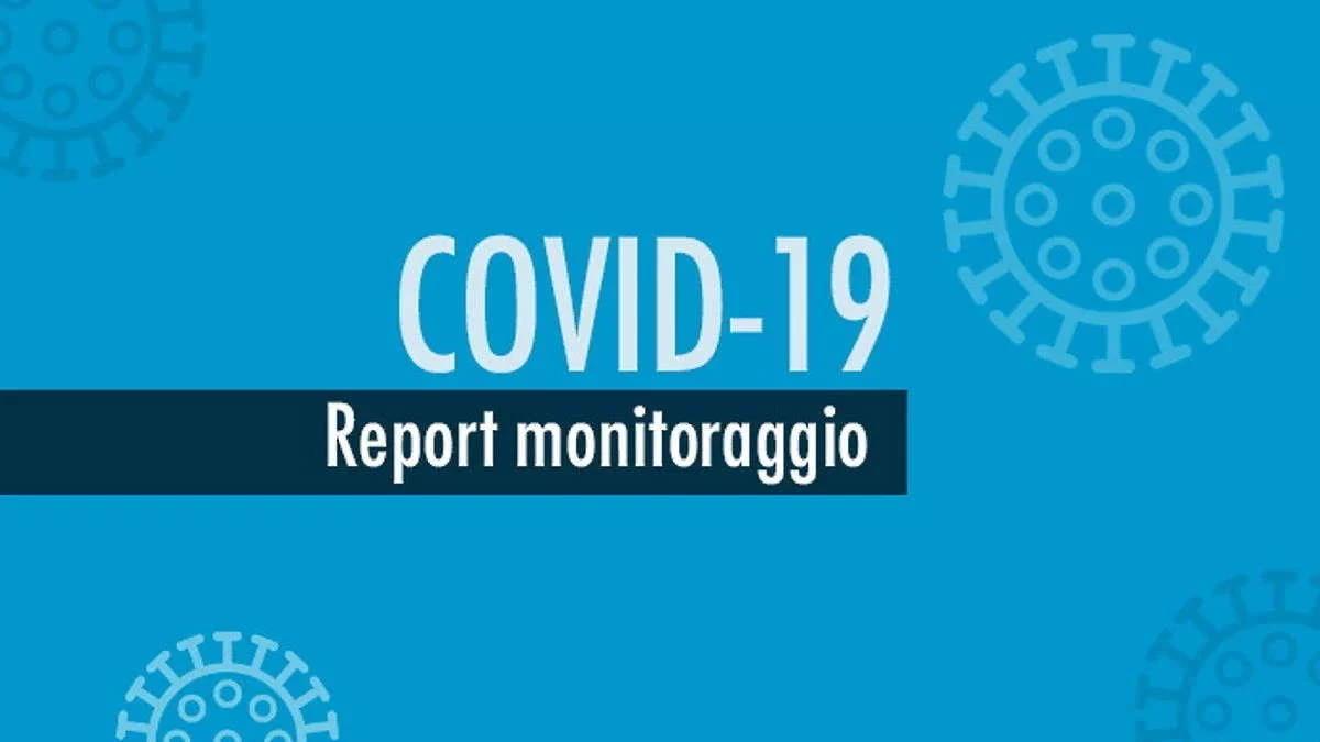 Report monitoraggio Covid dal 21 al 27 settembre