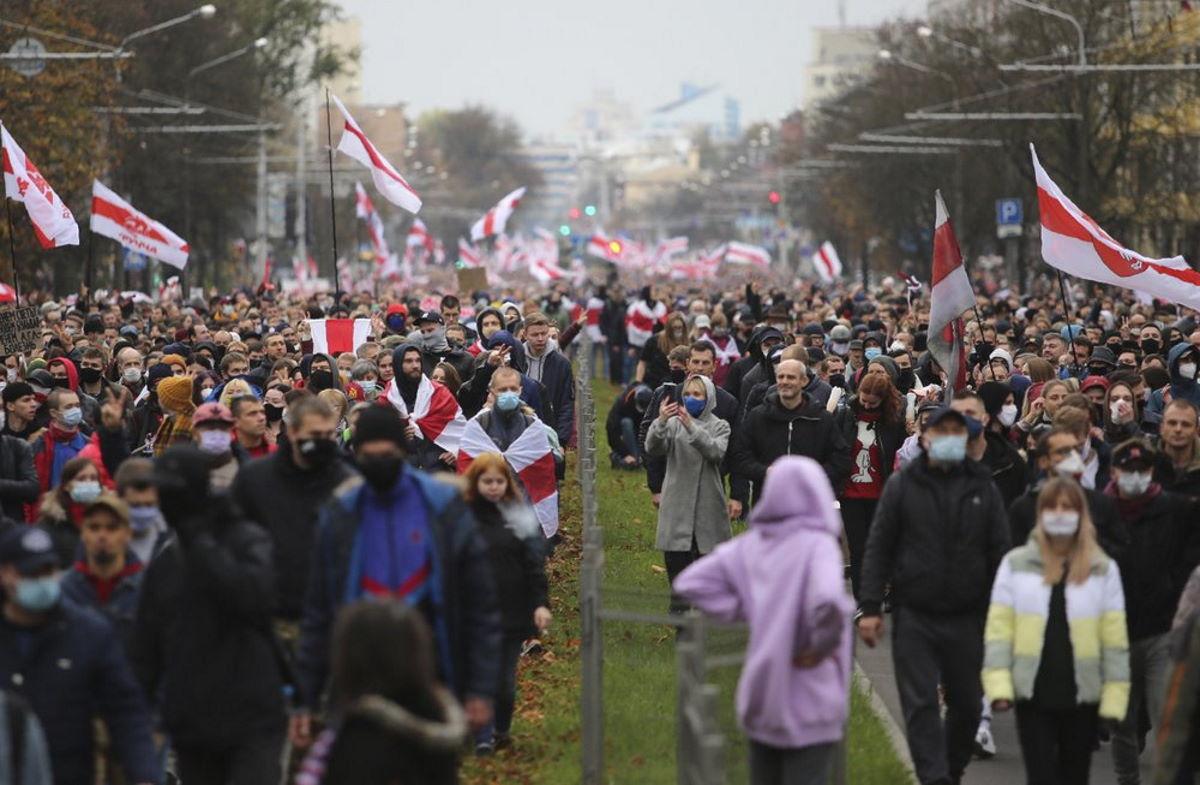 Lunedì è iniziato lo sciopero generale in Bielorussia
