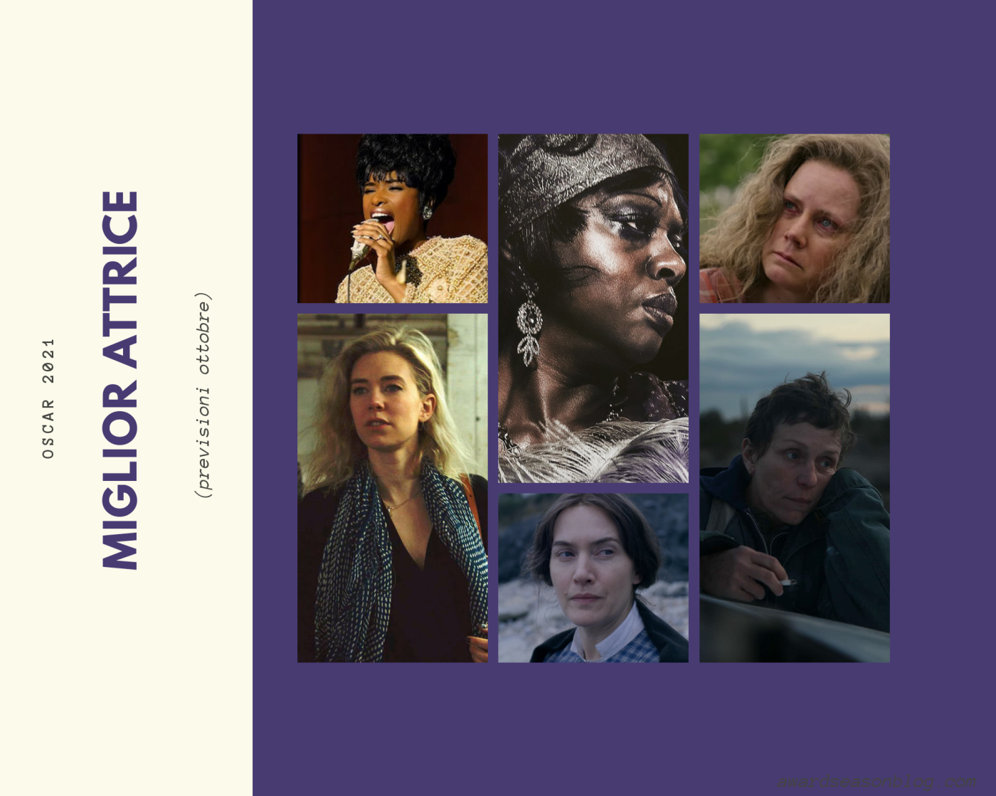 Oscar 2021: quali sono le 12 migliori attrici che possono ambire ad una nomination?