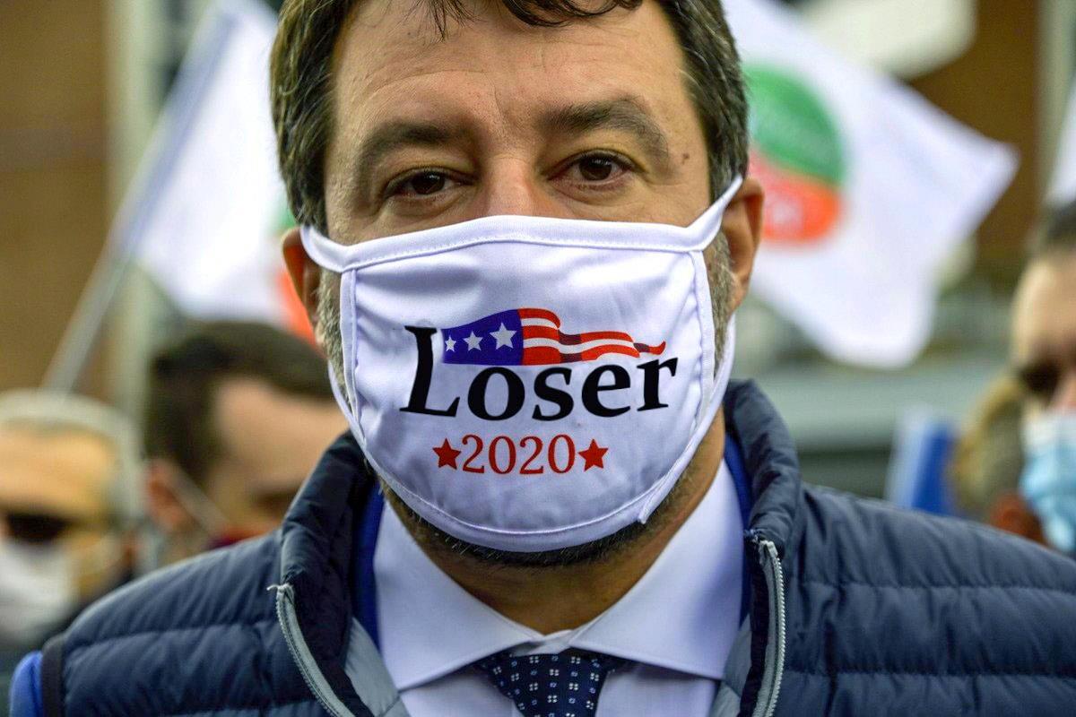 Matteo Salvini? La cheerleader italiana di Trump