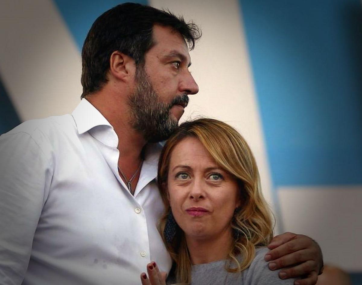 Matteo Salvini e Giorgia Meloni ovvero la normalità dell'anormalità