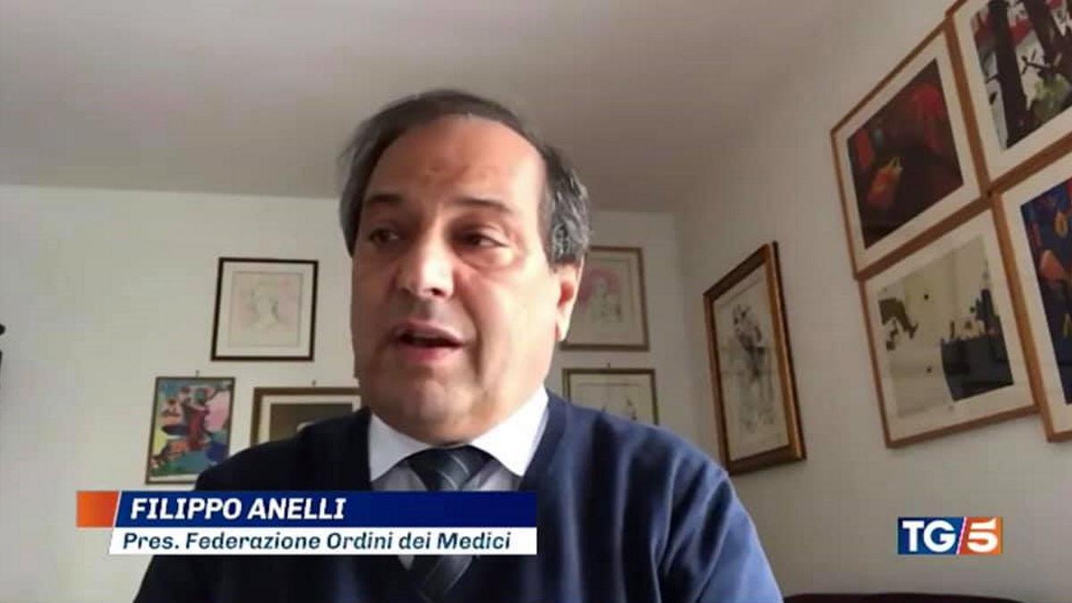 Appello del presidente dell'ordine dei medici italiani