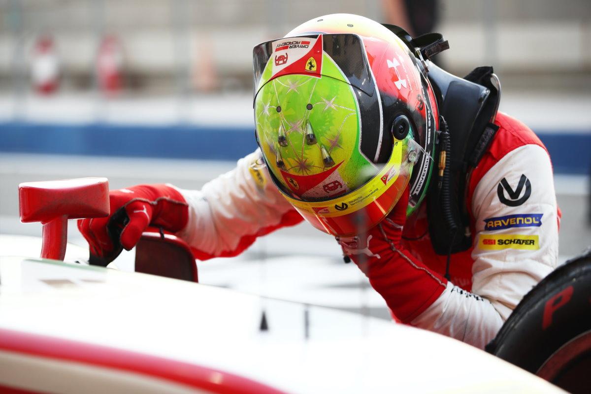 Mick Schumacher campione del mondo 2020 di Formula 2
