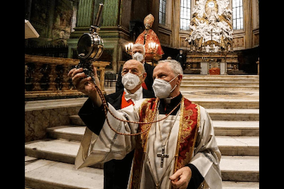 San Gennaro, 16 dicembre 2020: il Sangue non si è sciolto. Corsa a giocare al Lotto i numeri della Smorfia