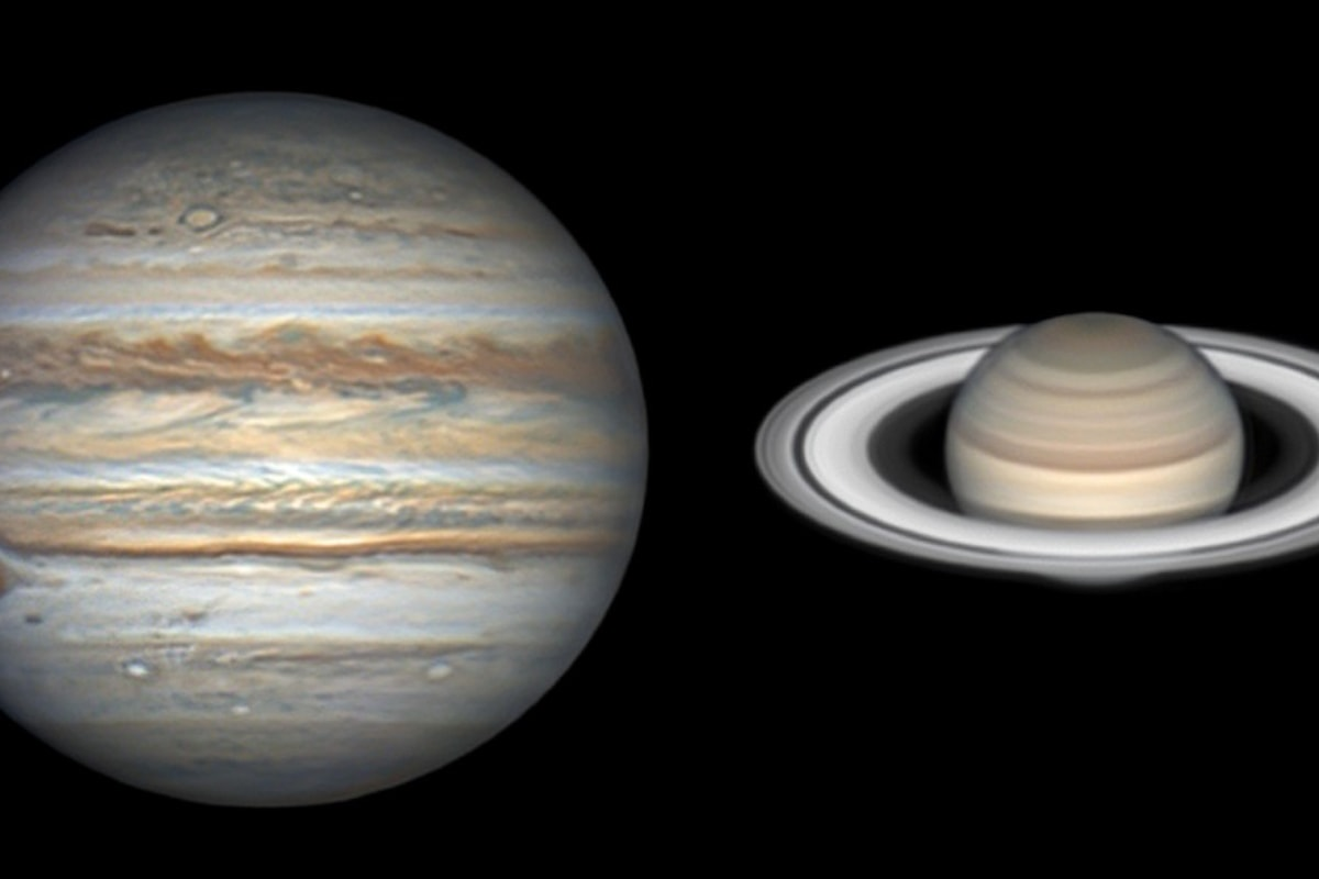 Il 21 dicembre l'abbraccio appassionato tra Saturno e Giove: è la stella di Betlemme?