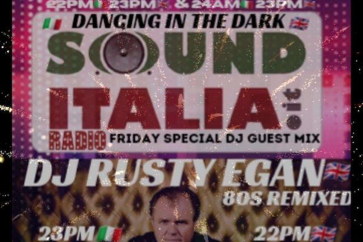 Dj Rusty Egan Special Guest 80s Set with Dj Claudio Ciccone Bros.