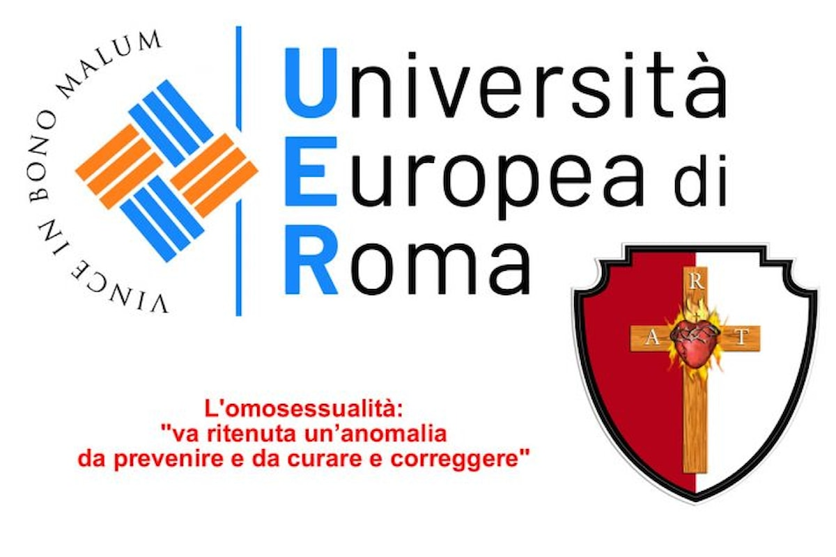Università Europea di Roma: l'omosessualità, una malattia da trattare