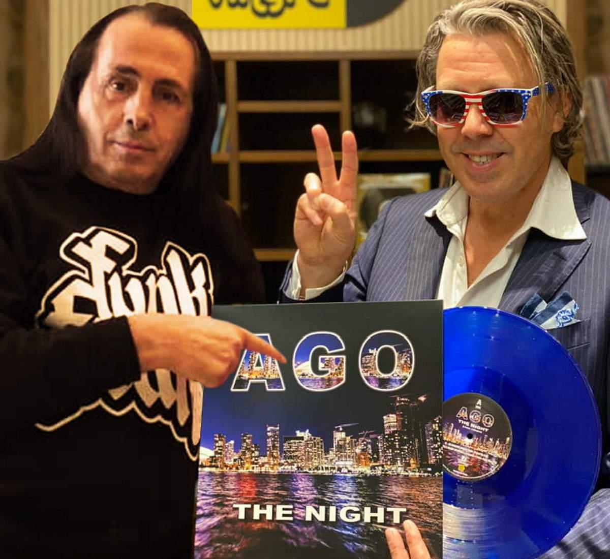 Ago - The Night, arriva il vinile