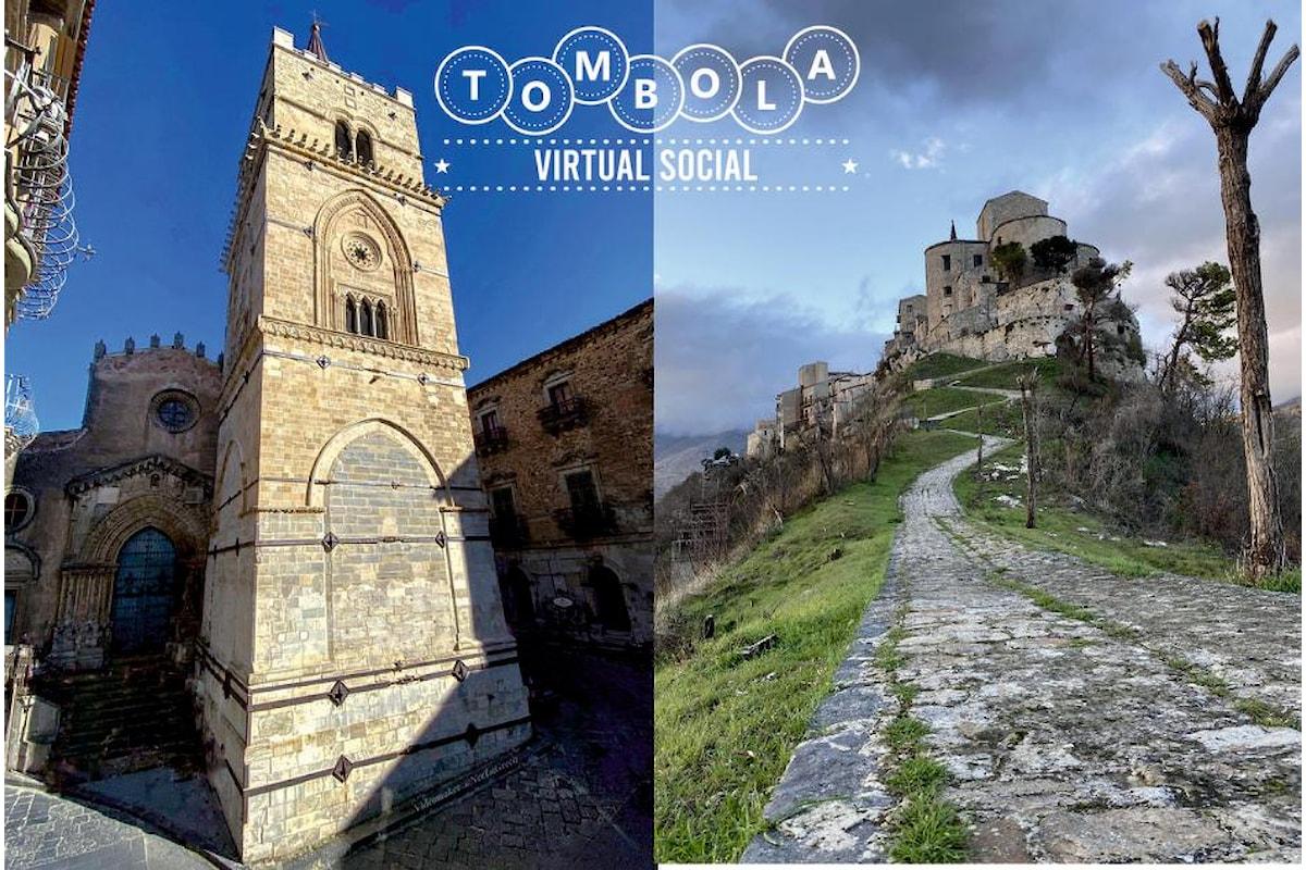 La tombola virtual social è l'evento del Natale 2020. A Nicosia (En) e Petralia Soprana (Pa) i primi appuntamenti che si terranno in Sicilia il 20 e 26 dicembre
