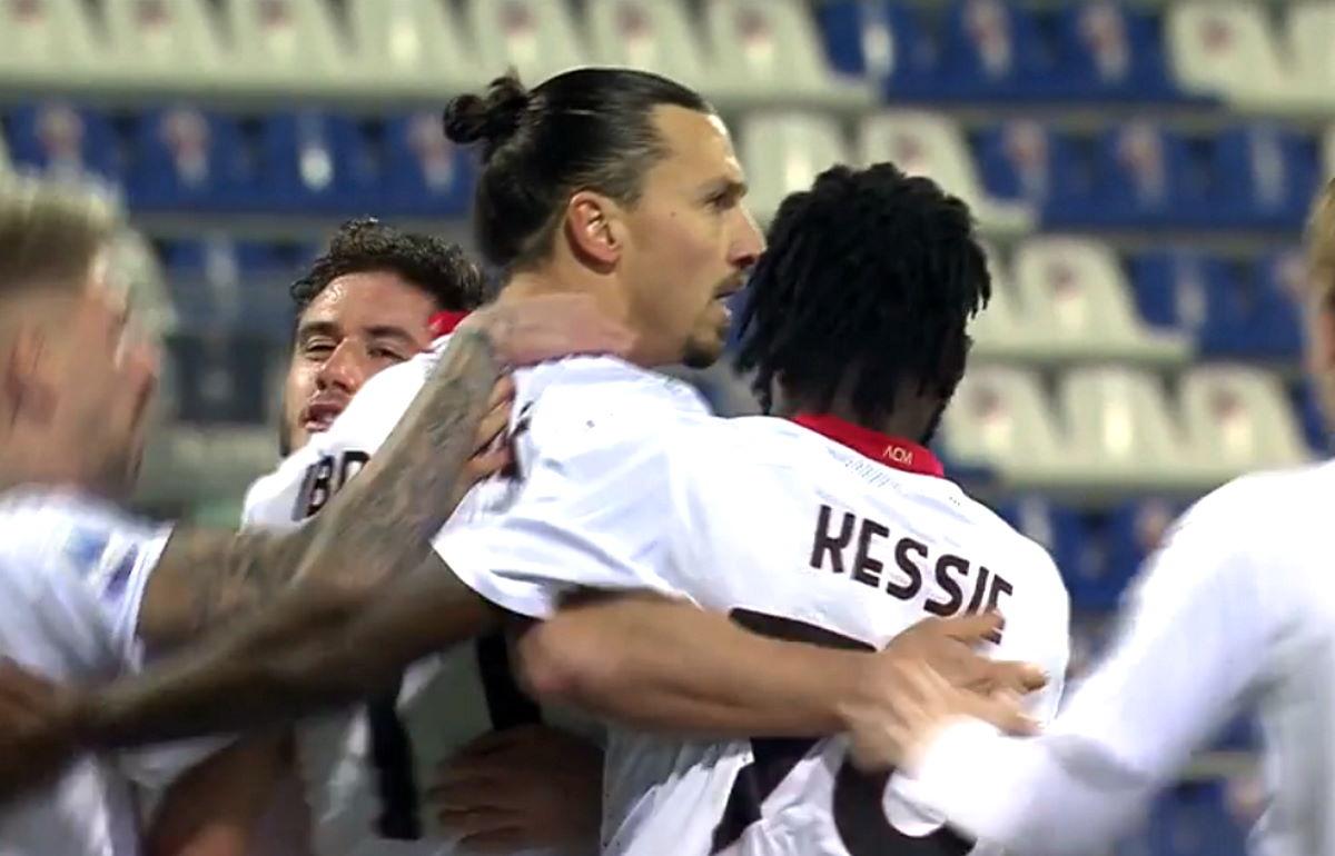 Il Milan vince a Cagliari nel posticipo di lunedì e mantiene la testa della classifica