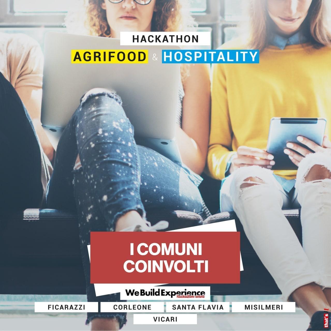 We Build Experience - Evento on line dedicato all'Agrifood e all'Hospitality. Dal 29 al 30 gennaio 2021 sulla piattaforma Zoom. 5 comuni e 15 aziende della Sicilia partecipanti