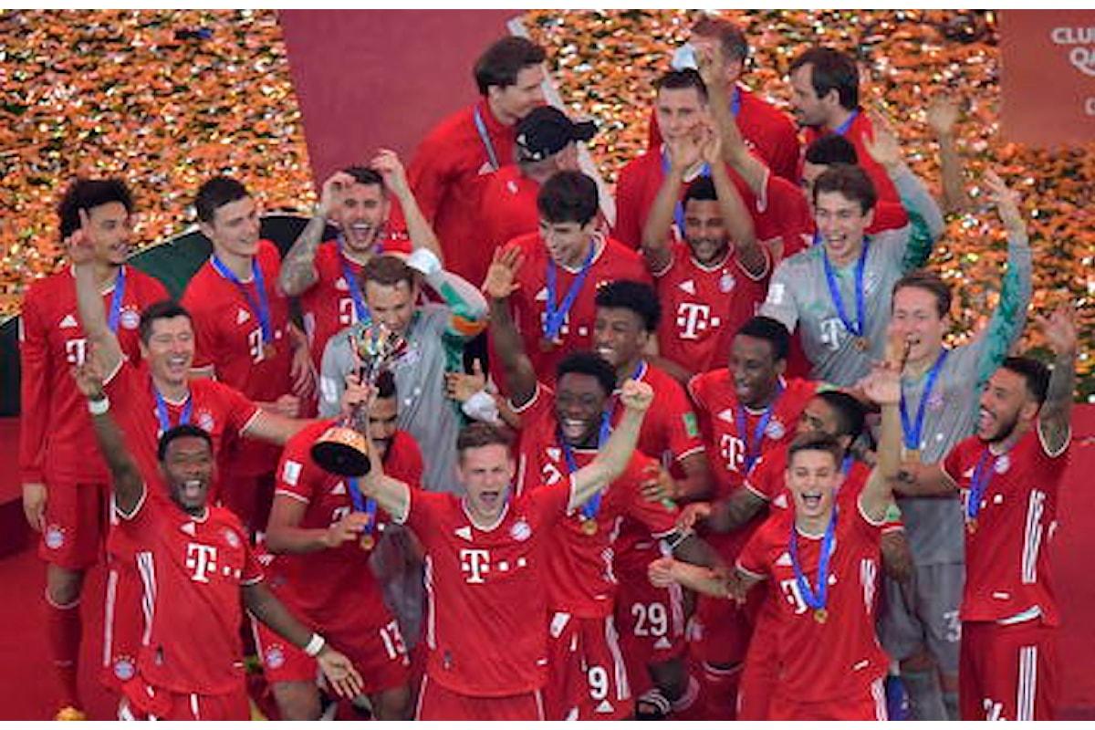 Il Bayern Monaco vince il Mondiale per Club conquistando consecutivamente 6 titoli come il Barcellona di Guardiola nel 2009