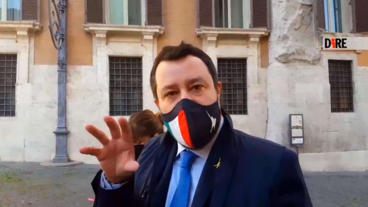 L'europeista Salvini vuol mettere il cappello anche sul governo Draghi?