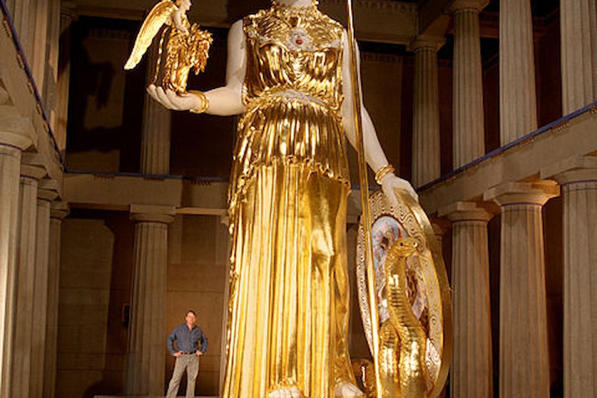 La verità dietro la statua perduta di Atena