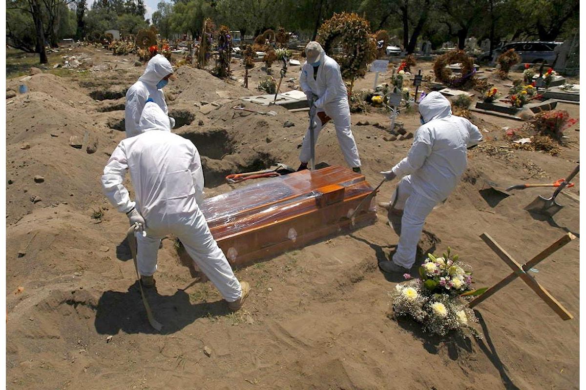 Covid: il Messico è il terzo Paese al mondo per numero di vittime