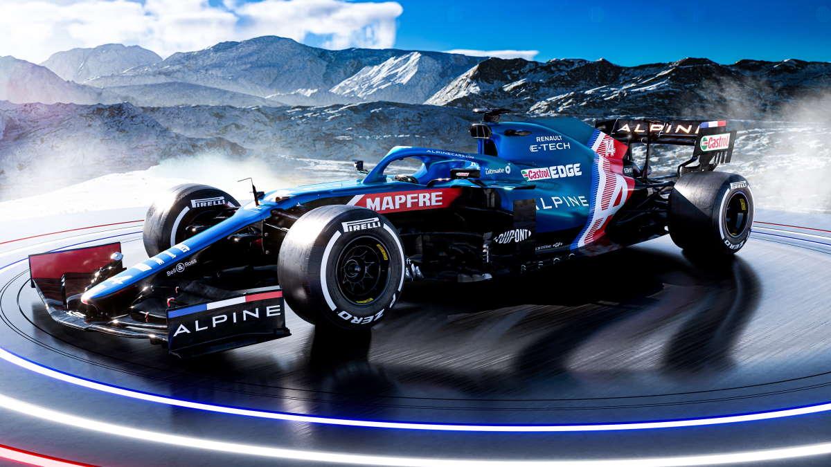 Formula 1, è tornata l'Alpine
