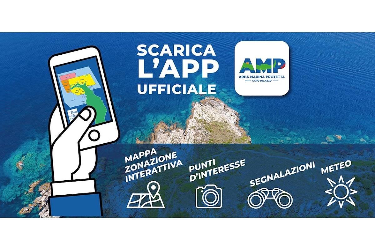 Milazzo (ME) - Area Marina Protetta, arriva l'app per Android e Iphone