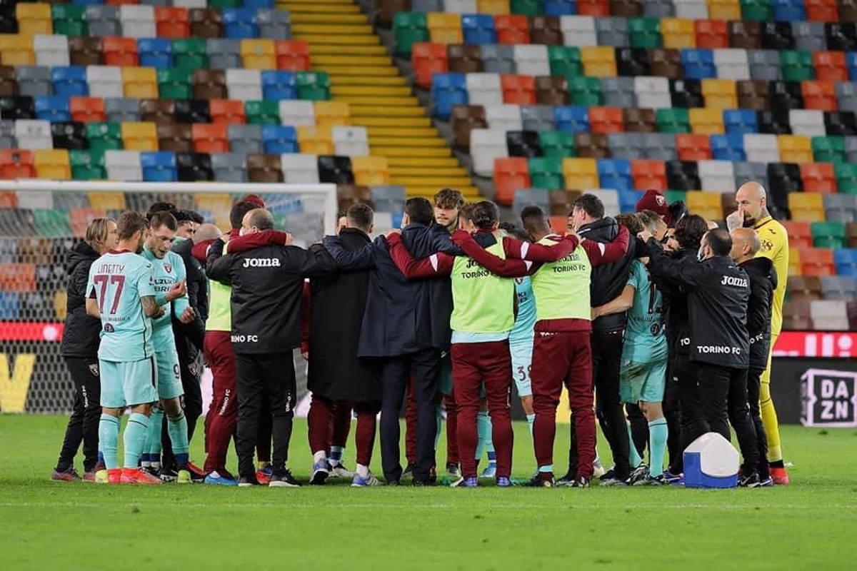 Serie A: il Torino batte in trasferta l'Udinese 0-1 e si porta a +5 dalla zona retrocessione