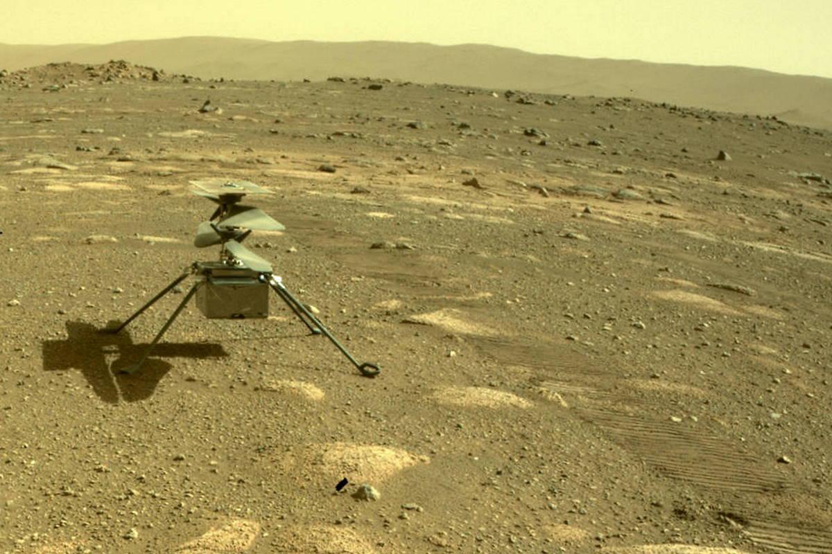 Ingenuity supera con successo la prima notte su Marte... da solo