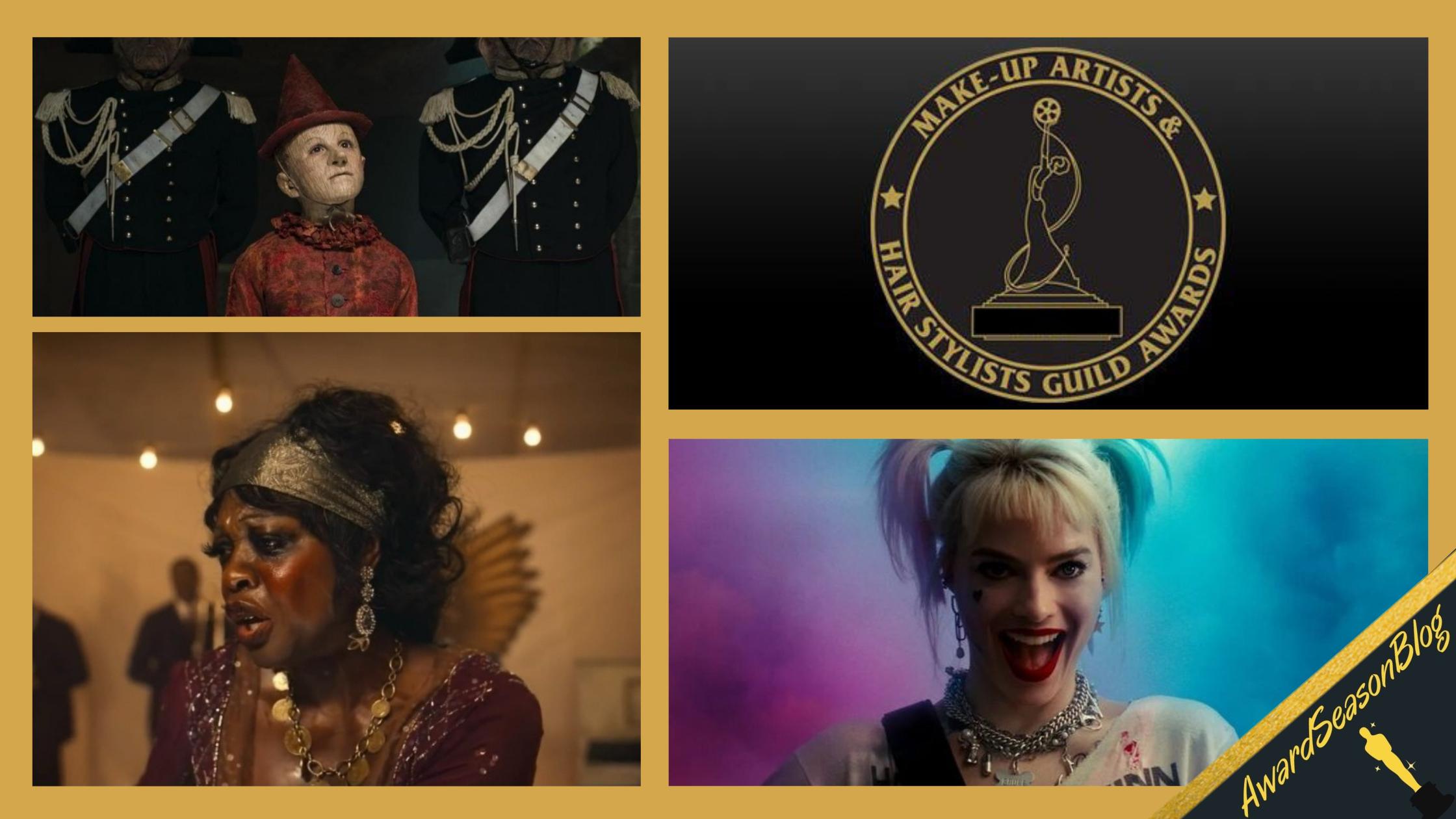 Makeup Artists and Hair Stylists Guild Awards 2021: vincono Pinocchio e Ma Rainey's Black Bottom
