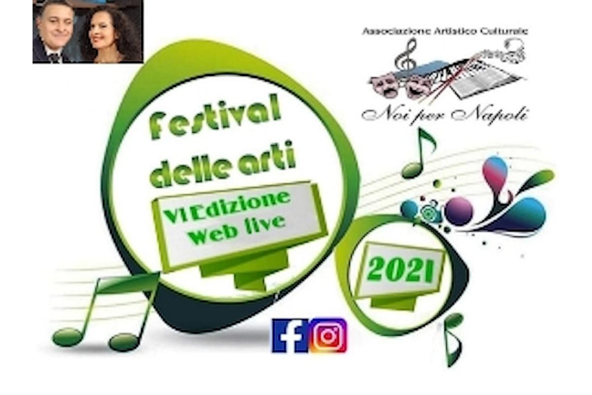 Il Festival delle Arti Noi per Napoli 2021 ed i progetti di solidarietà