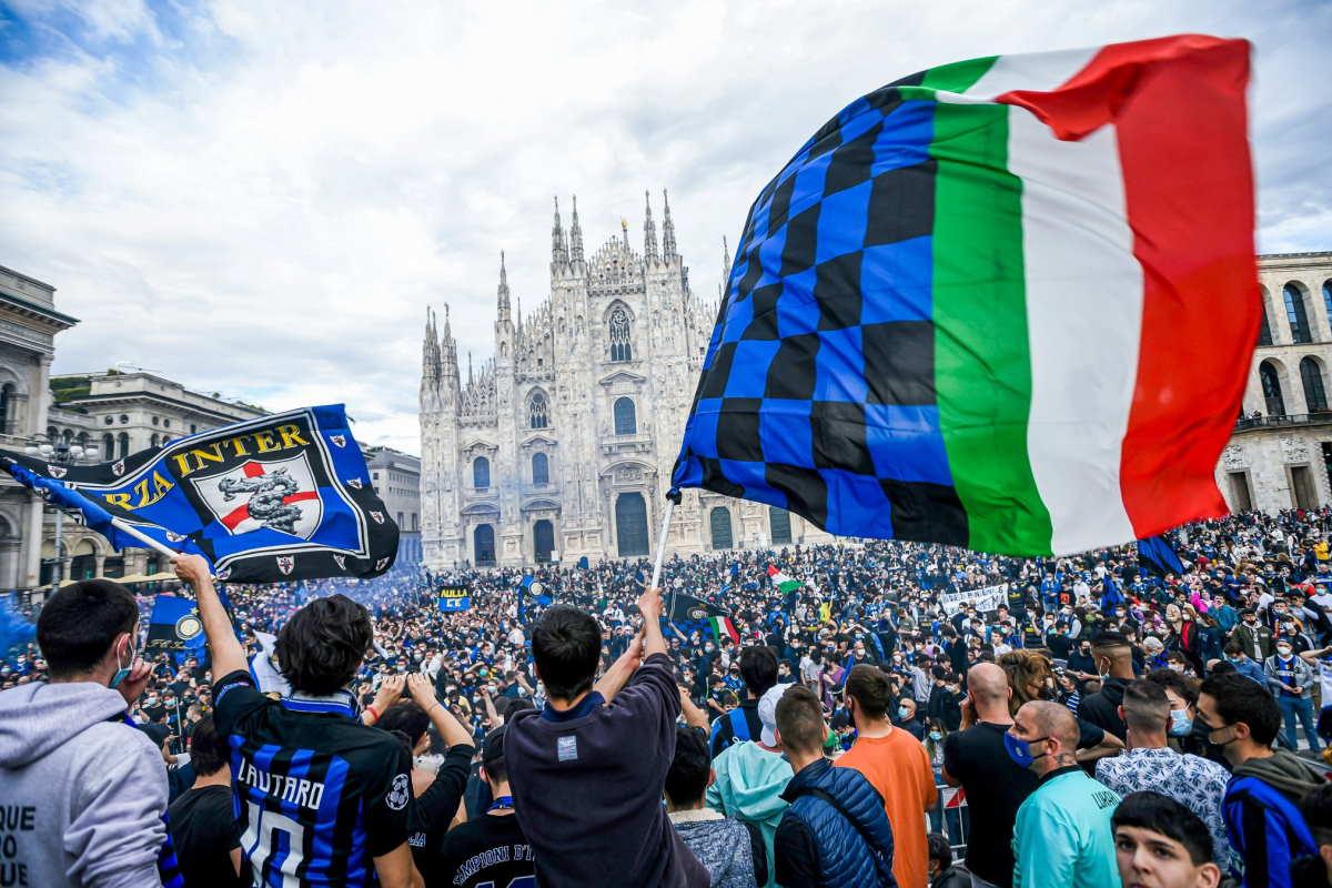 L'Atalanta pareggia a Sassuolo e l'Inter conquista il suo 19° scudetto