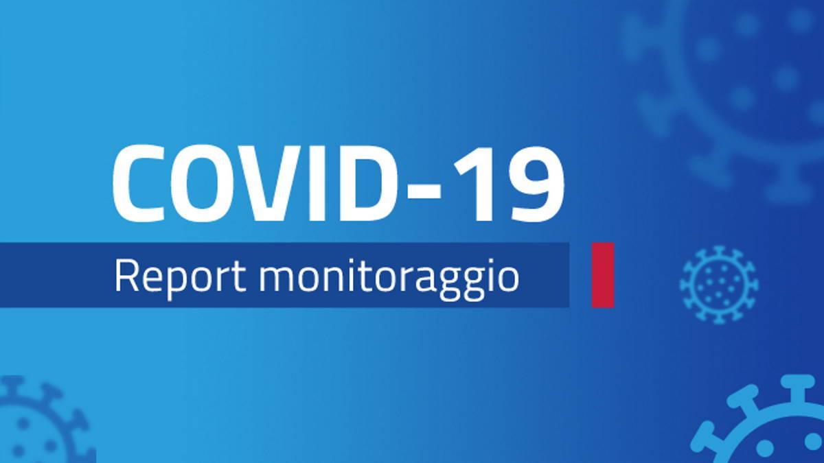 Report monitoraggio Covid dal 26 aprile al 2 maggio 2021