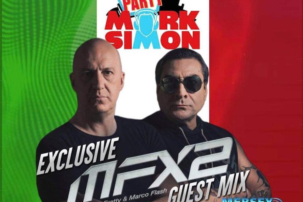 MFX2 (Marco Fratty & Marco Flash), dj set per House Party su Mersey Radio Uk… e il 25 giugno 2021 ecco Saving your Loving