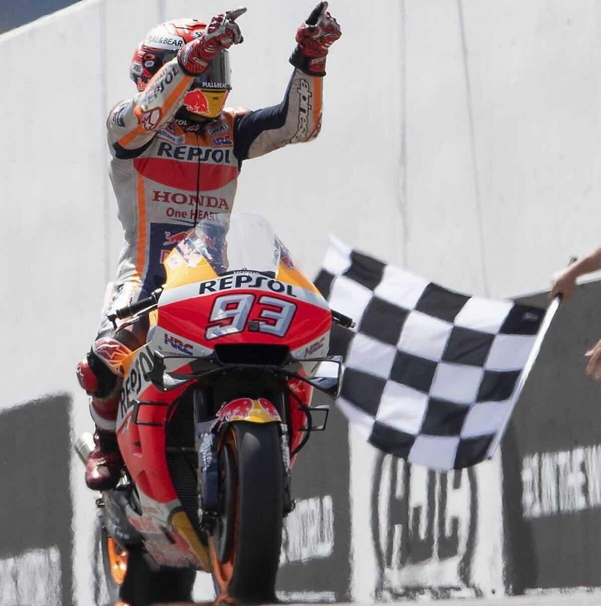MotoGP, Marquez è tornato a vincere e si aggiudica il GP di Germania al Sachsenring