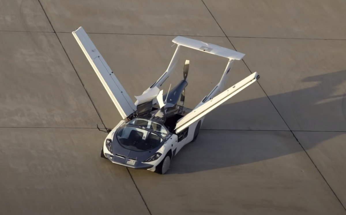 L'auto che vola è realtà: ecco l'AirCar della Klein Vision